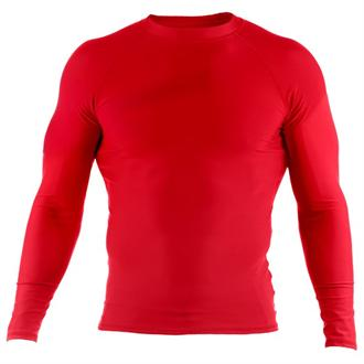 Clinch Gear Clinch Gear Red Rashguard (Long Sleeve)
